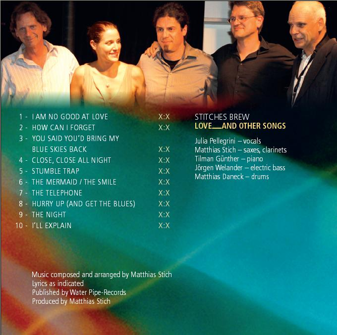 Stitches brew featuring julia pellegrini vocal jazz for Butlers ludwigsburg