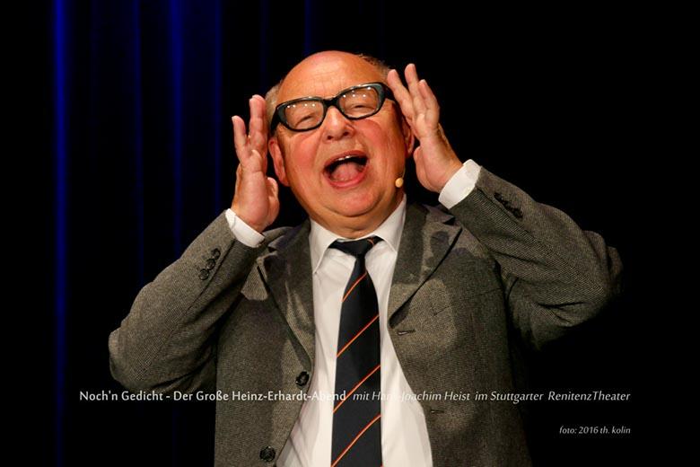 Heinz Erhardt Abend Mit Hans Joachim Heist Renitenztheater
